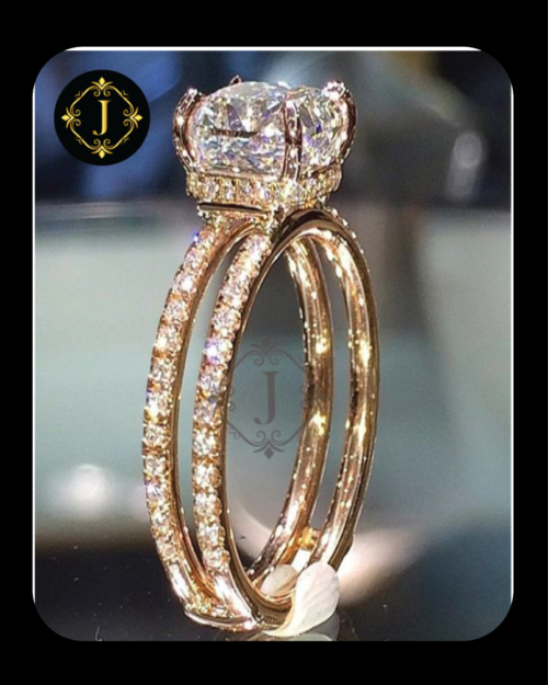 Zircon Gold Plated Ring in Pakistan