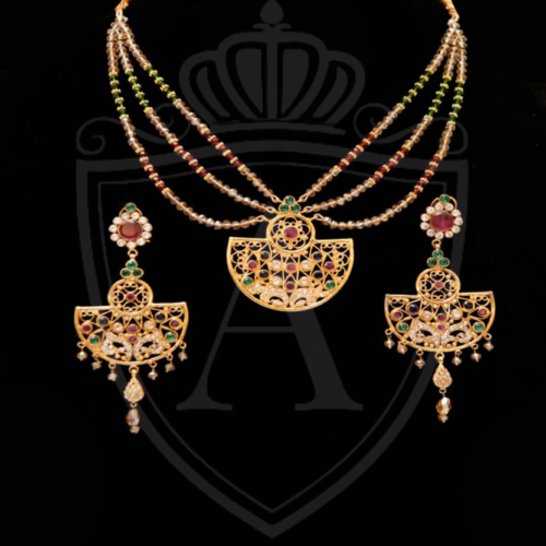Hand Made Pendent Set in Pakistan