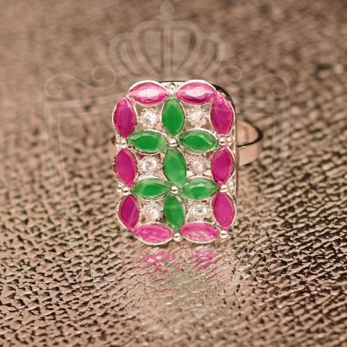 Best Emerald Pink Rings in Pakistan