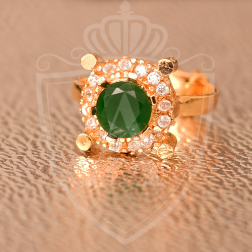 Best Emerald Gold Plated Rings