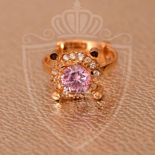 Baby Pink Zircon Ring