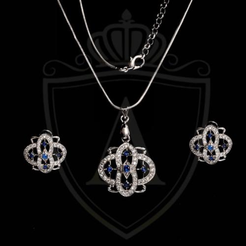 Sapphire Zircon Necklace 2021