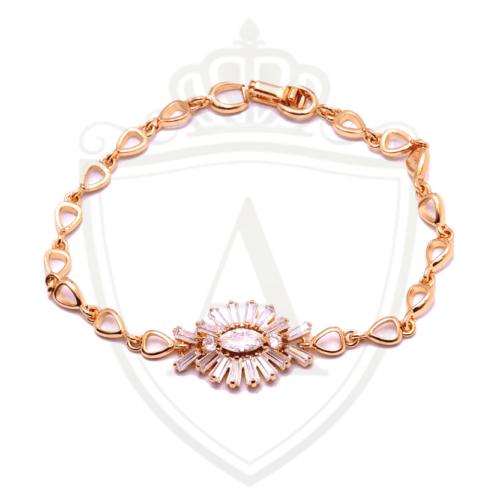 Best Zircon Golden Bracelet in Pakistan
