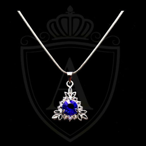 Best Blue Triangle Necklace 2021