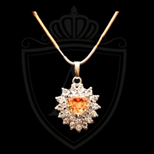 Light Orange Necklace in Pakistan