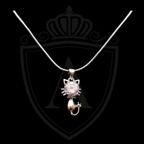 Cat Shape Necklace in Pakistan