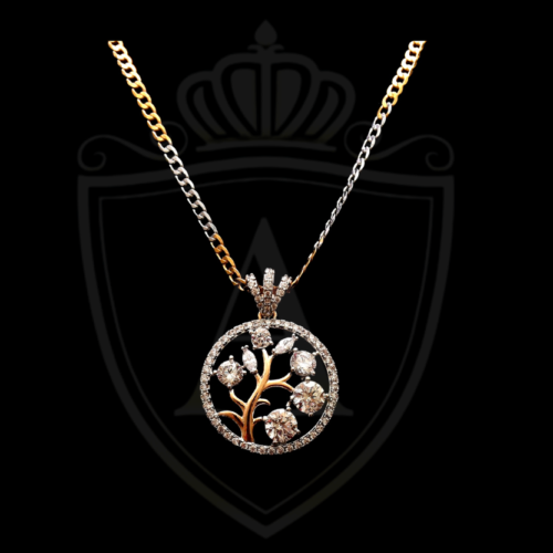 Best Tree Gold + Silver Necklace