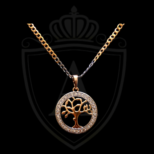Tree Gold Necklace in Karachi