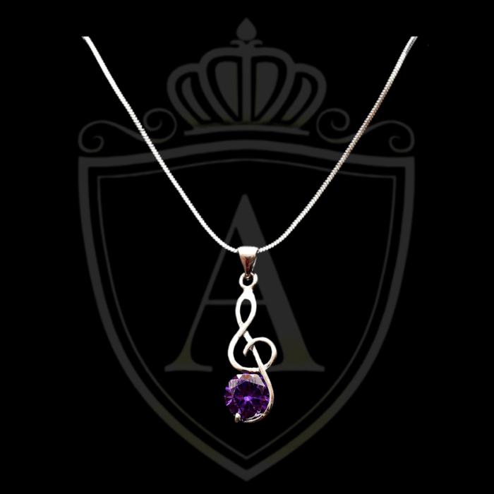 Purple Color Necklace in Lahore