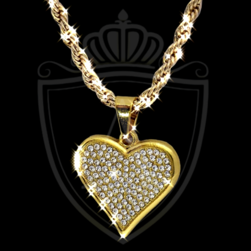 Heart Shape Necklace in all cities of Pakistan